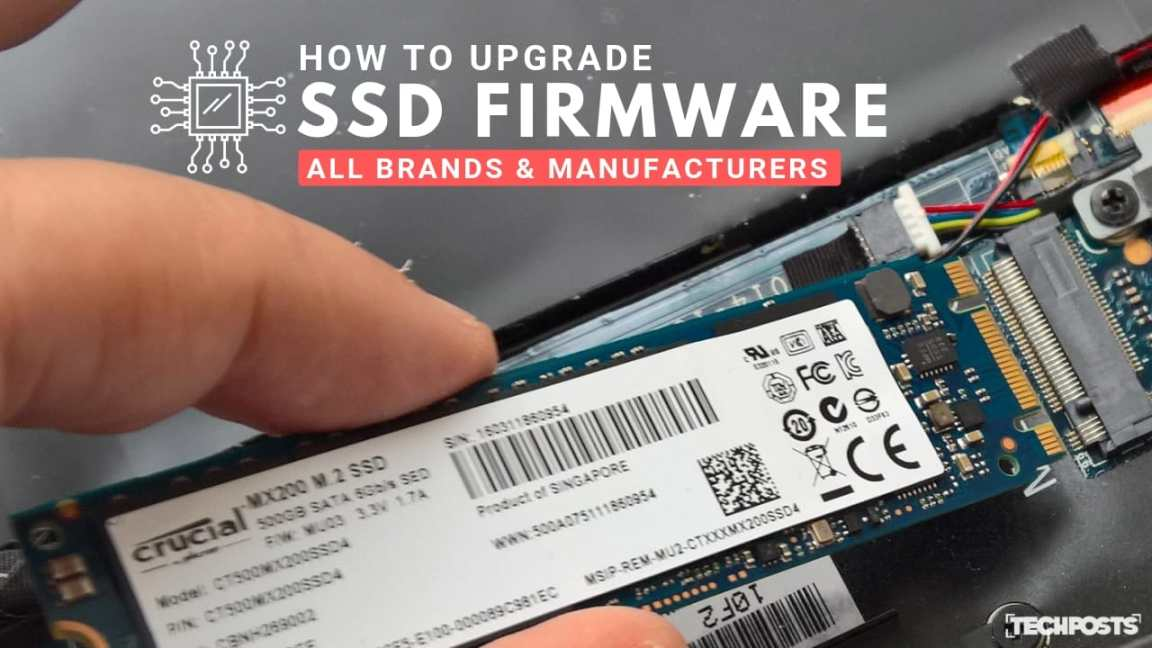 How to Update Your SSD Firmware- All Brands & Manufacturers