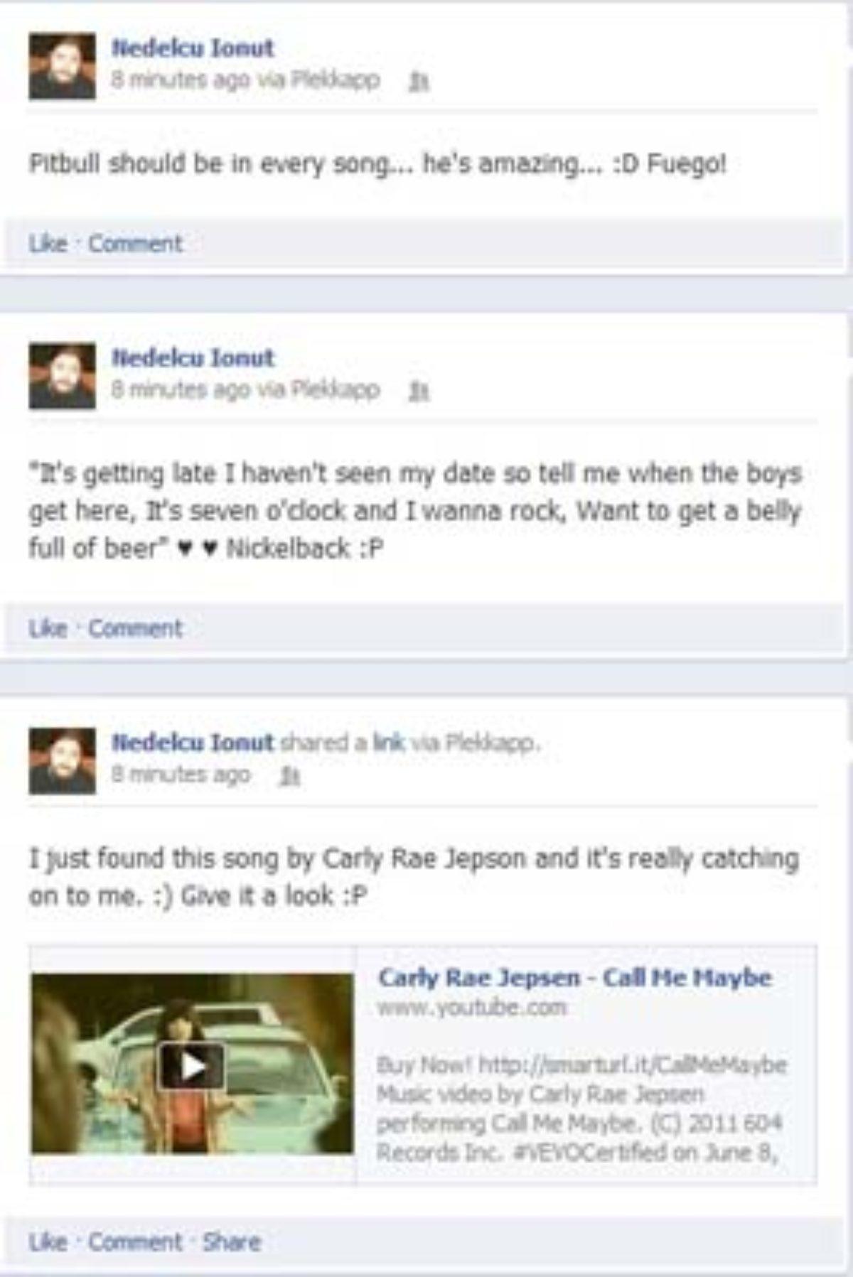 Funny Facebook Hacked Statuses : funny, facebook, hacked, statuses, Pretend, Hacked, Facebook, Application