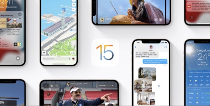how to update iPhone to iOS 15