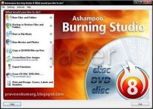 Ashampoo Burning Studio 8.03