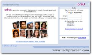 Open Orkut Accounts Simultaneously in Two Tabs - Firefox