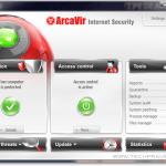AcraVir 2011 Internet Security Screenshot
