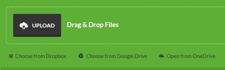 Upload Files to PDF Converter