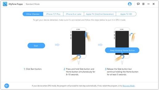 Step2 iMyFone Fixppo
