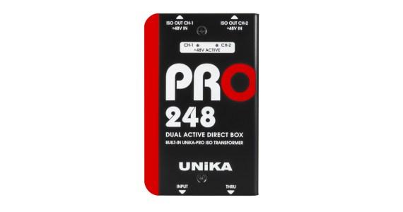UNiKA PRO-148 und PRO-248: aktive DI-Boxen für herausragenden Klang