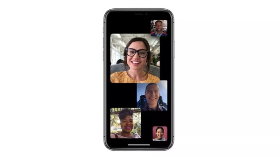 Group Face Time calls in iOS 12