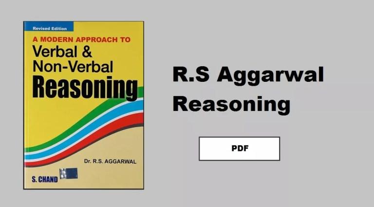 RS AGRAWAL REASONING