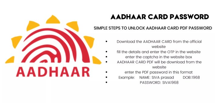 Download E-Aadhar Card From Online