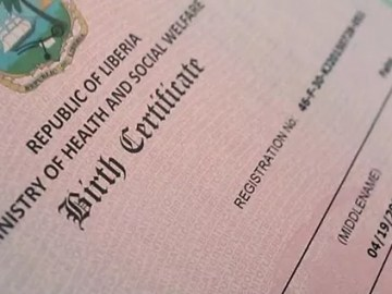Birth certificates and unregistered births