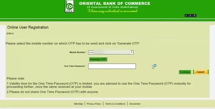 OBC INTERNET BANKING HOW TO REGISTER AND LOGIN