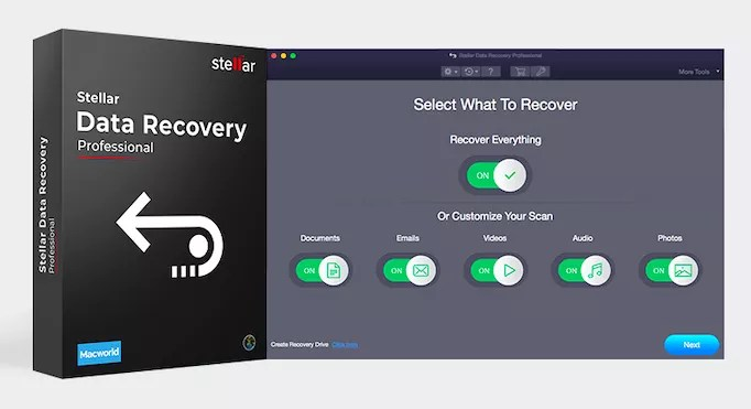 Stellar Data Recovery Professional – An Outstanding Mac Data Recovery Software