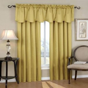 sound proof your room by thick curtains