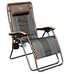 most comfortable folding chair for bad back