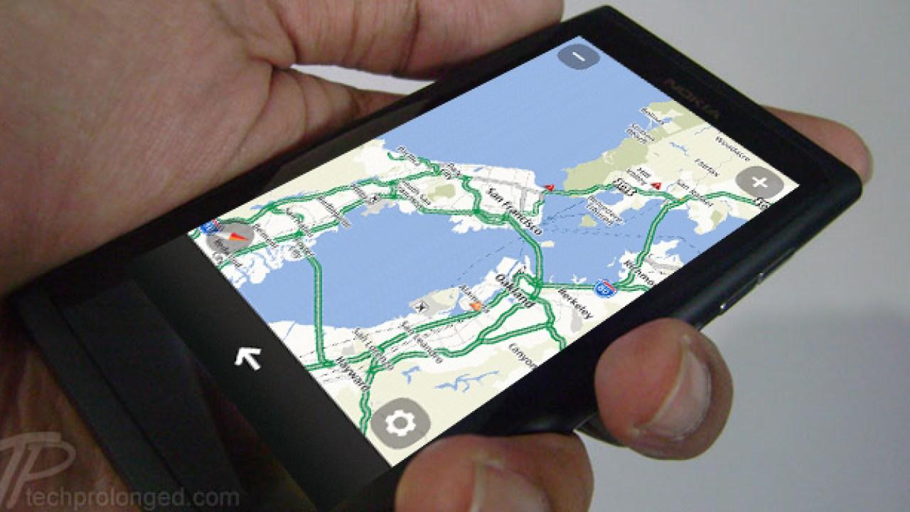 Nokia drive maps update