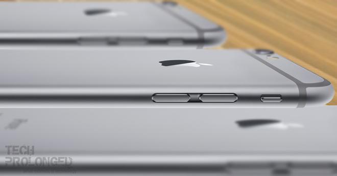 iPhone 6 upside down