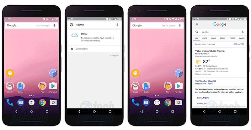 Google Offline Search