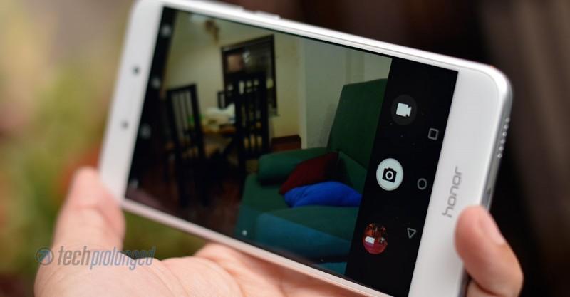 Honor 8 Lite Camera UI