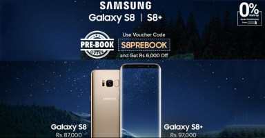Galaxy S8 on Installments