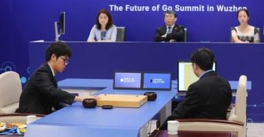 Ke Jie vs AlphaGo
