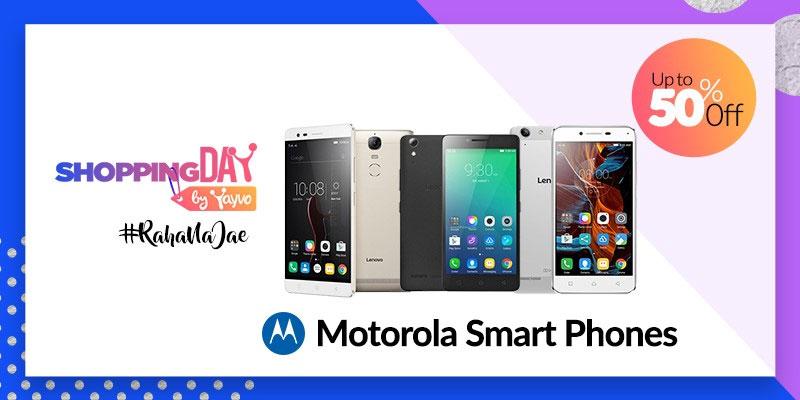 Yayvo Shopping Day - Motorola