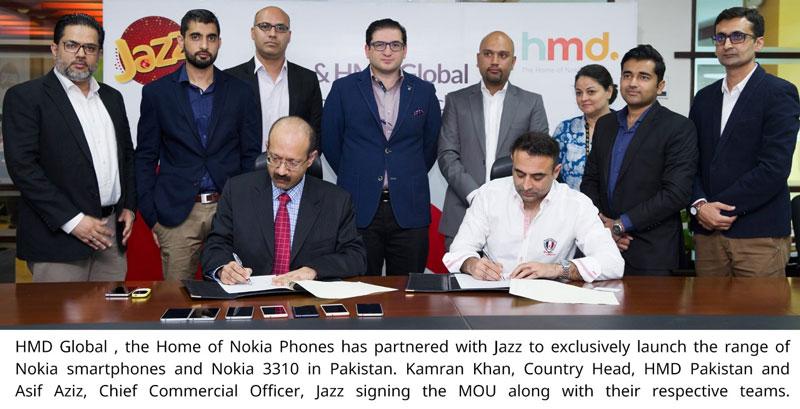 HMD Global Nokia Jazz Pakistan