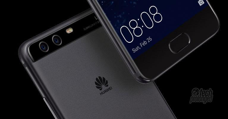Huawei p10 Dark Front Back