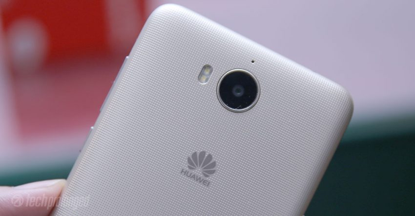 Huawei Y5 2017 Review - Rear Camera Angle
