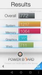 Huawei Y5 2017 Basemark OS II benchmark