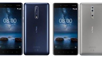 Nokia 8, Nokia 9 Blue/Steel