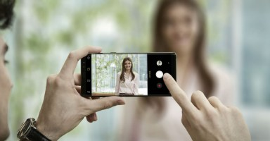 Galaxy Note8 - Camera Live Focus