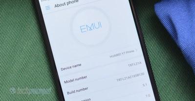 Huawei Y7 Prime EMUI 5
