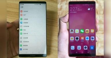 Huawei Mate 10 Bezel-Less