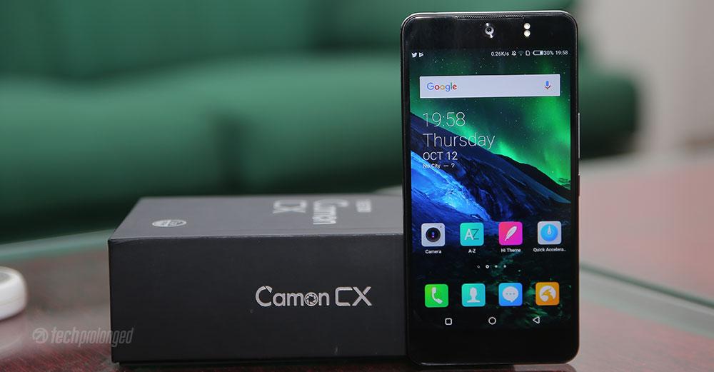 Tecno Camon CX - Review - Tech Prolonged