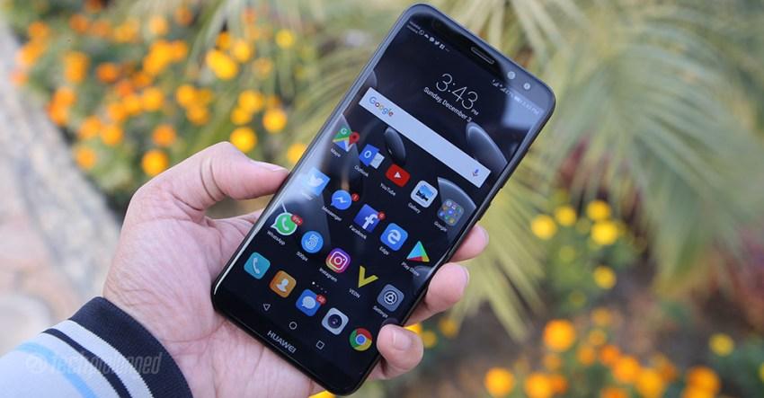 Huawei Mate 10 Lite Display Outdoor
