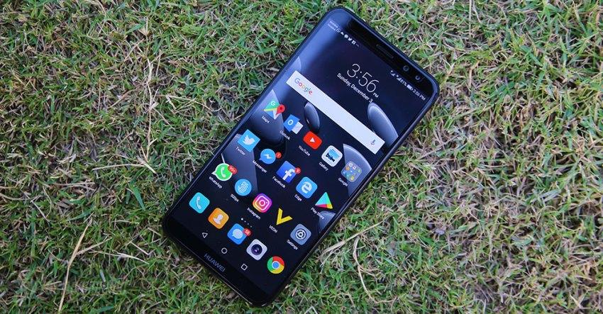 Huawei Mate 10 Lite Review Grass