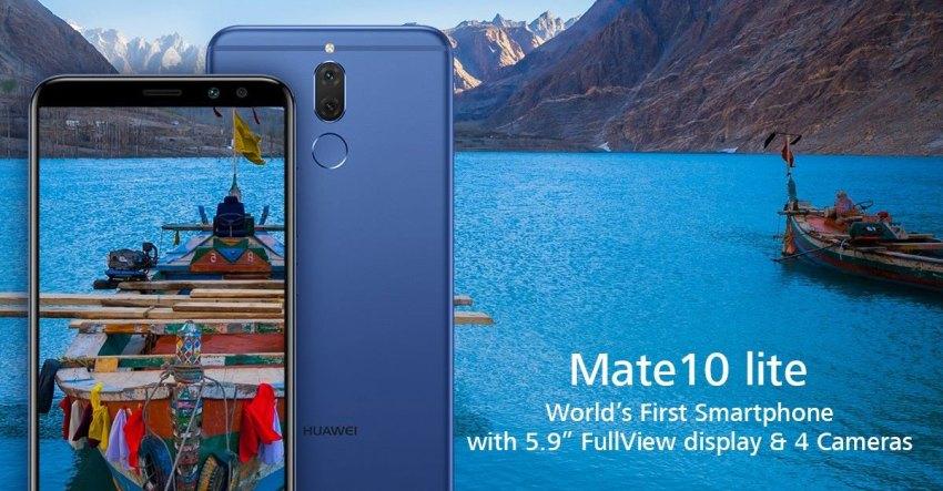 Huawei Mate 10 Lite Urwa Hocane