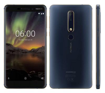 New Nokia 6 2018 Blue/Gold