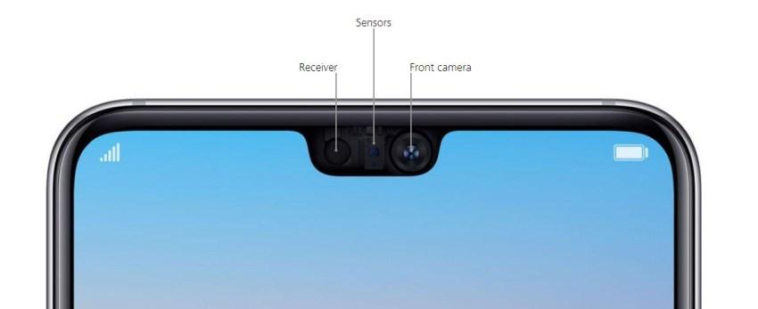 Huawei P20 Pro Front Camera