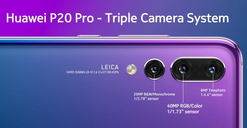Huawei P20 Pro Camera Detail