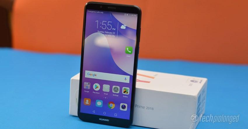 Huawei Y7 Prime 2018 Unboxing