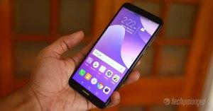 Huawei Y7 Prime 2018 Review Display