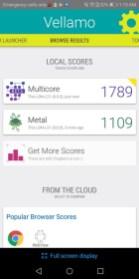 Huawei Y7 Prime 2018 Benchmark Vellamo