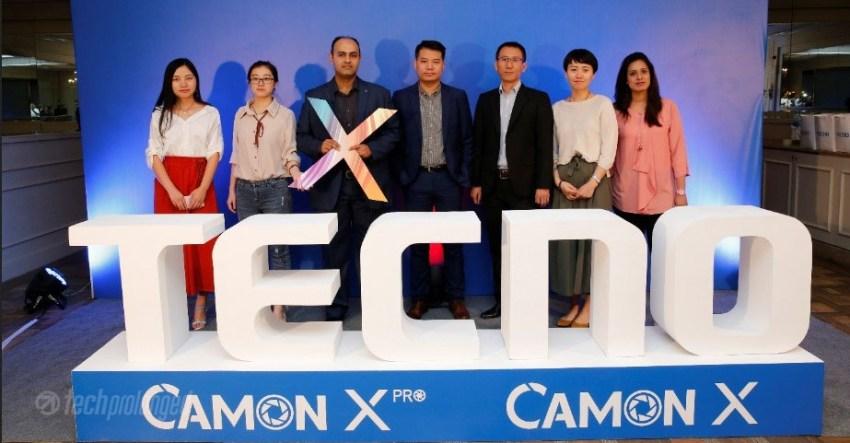 Camon X Pro Launch Pakistan