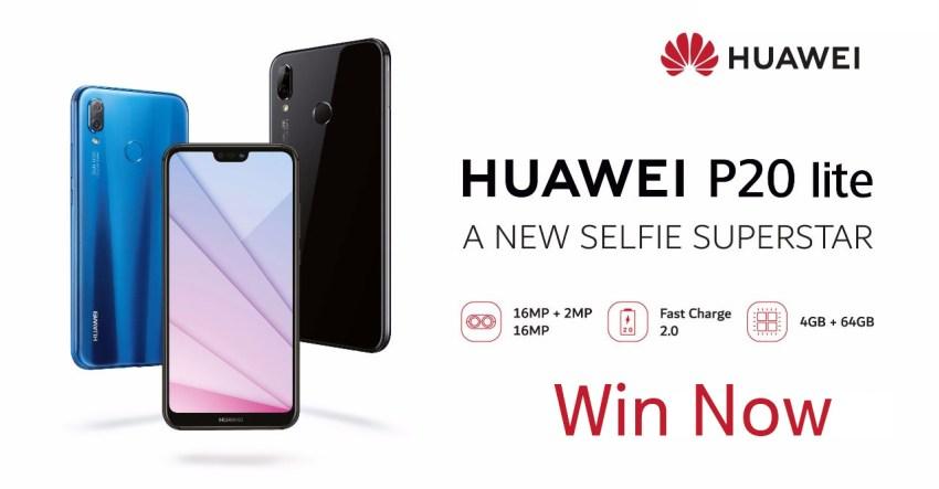 win Huawei P20 lite