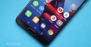 Huawei P20 Pro Review Fingerprint Sensor