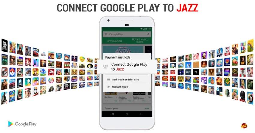 Jazz Carrier Billing Google Play