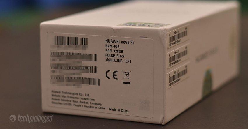Huawei Nova 3i Features