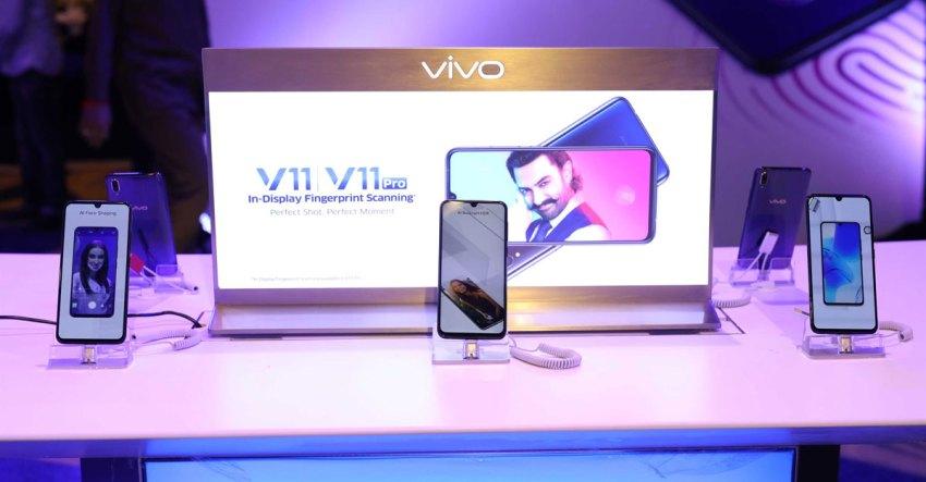 Vivo V11 and Vivo V11 Pro Launch Pakistan