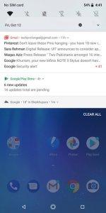 Infinix Note 5 Stylus Software UI