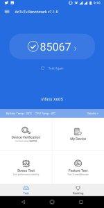 Infinix Note 5 Stylus Antutu Scores